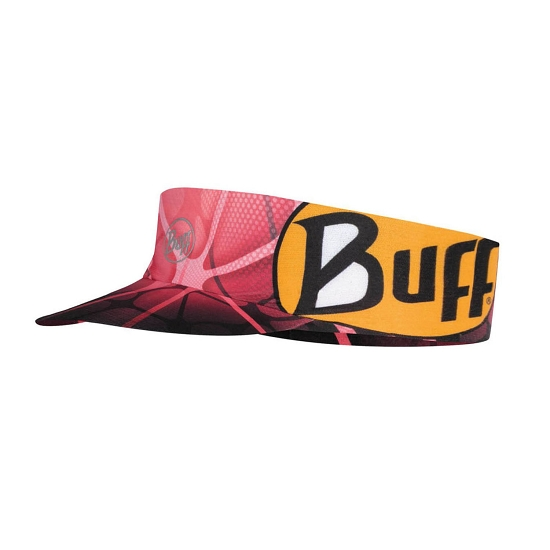 Buff Pack Run Visor - Ape-X Coral