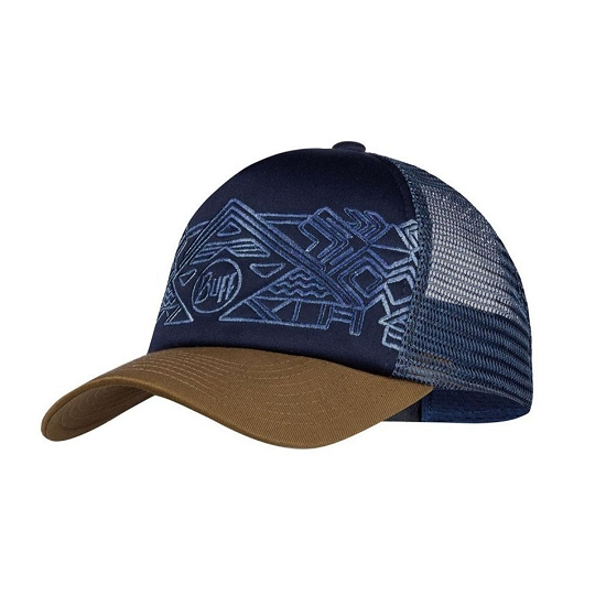 Buff Trucker Cap Kids - Kasai Night Blue