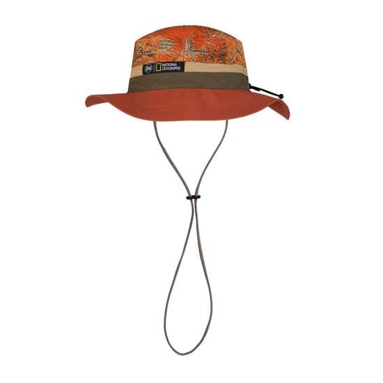 Buff Booney Hat - Natgeo Nomad Rusty