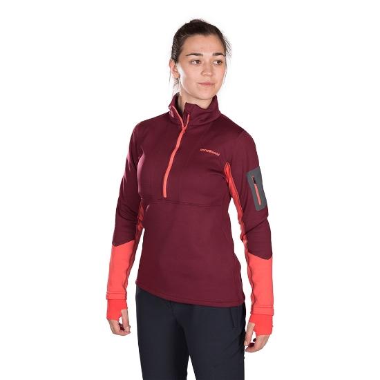 Trangoworld Veneto Pullover W - Granate