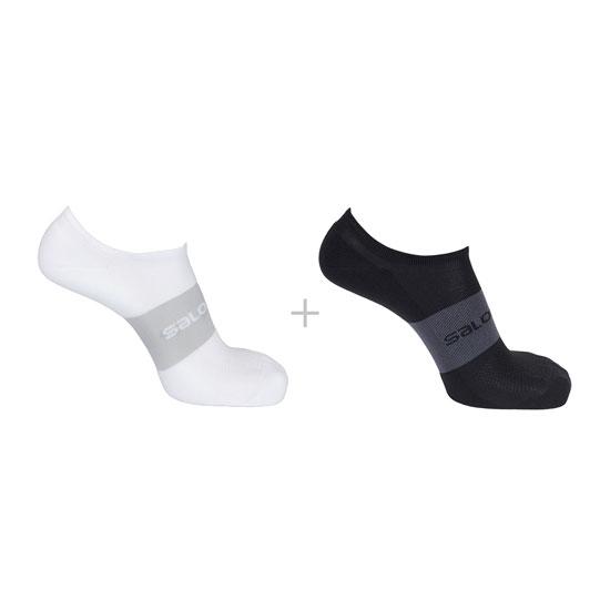 Salomon Socks Sonic 2 Pack - Black/White