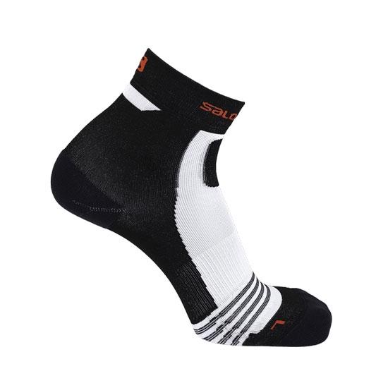 Salomon Socks Nso Short Run - Black/Racing Red