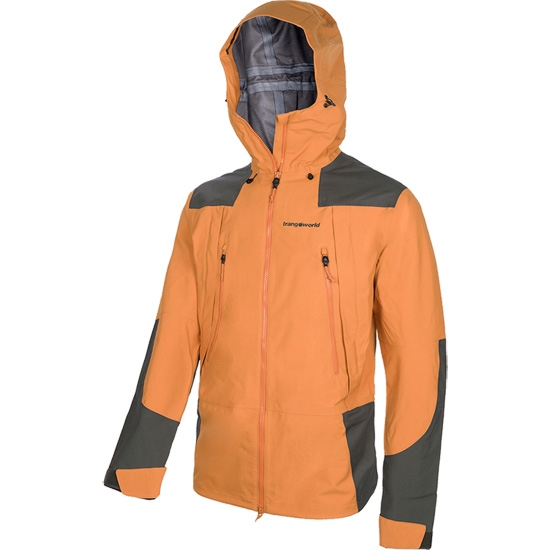 Trangoworld Tempest TW86 Jacket - Ocre/Verde Oscuro