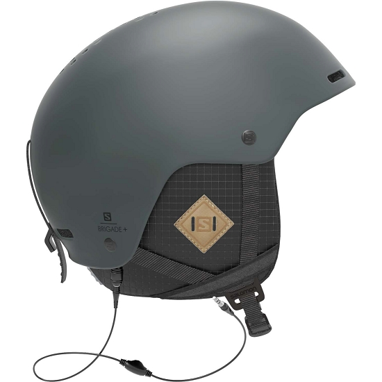 Salomon Helmet Brigade+ Audio - Green Gables