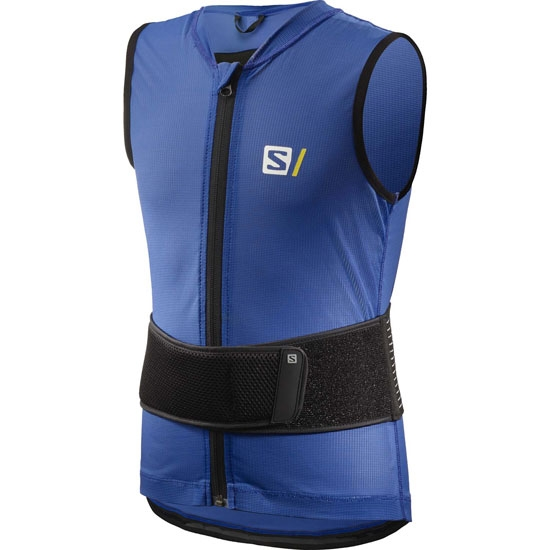 Salomon Back Prote Flexcell Light Vest Jr - Blue