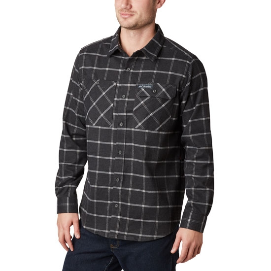 Columbia Outdoor Elements Stretch Flannel - Shark