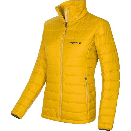 Trangoworld Simena Jacket W - Amarillo Mostaza