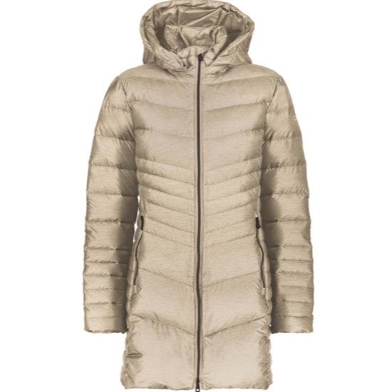 Campagnolo Coat Snaps Hood W - Desert
