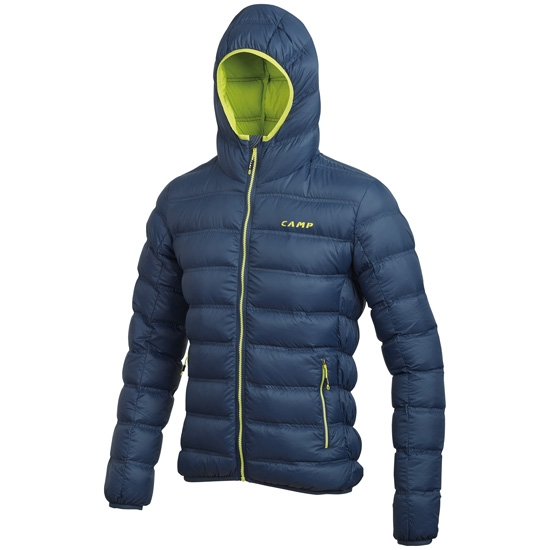 Camp Cloud Jacket - Cobalt blue/Lime punch