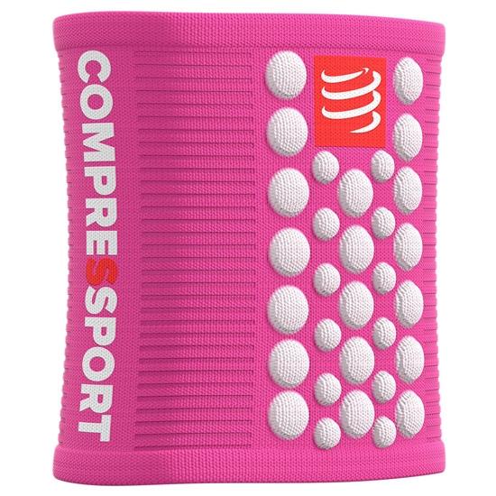 Compressport Sweatbands 3D.Dots - Pink/White