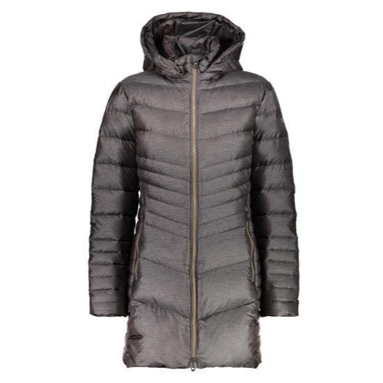 Campagnolo Coat Snaps Hood W - Arabica Melange