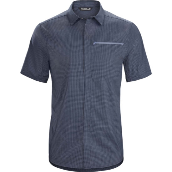 Arc'teryx Kaslo Shirt SS - Cobalt Moon