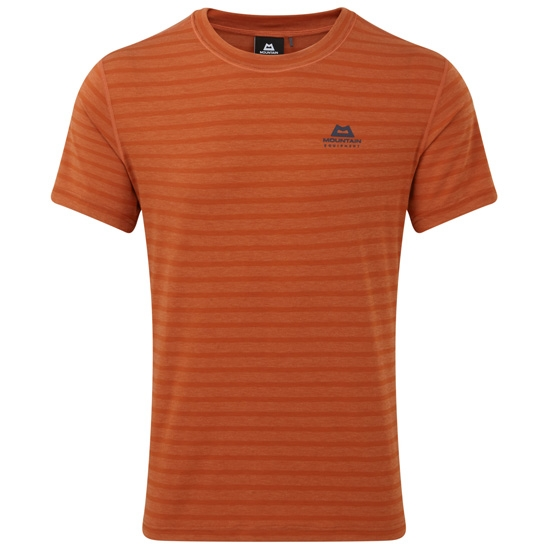 Mountain Equipment Groundup Tee - Bracken Stripe