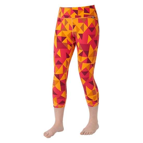 Mountain Equipment Cala Crop Legging - Orange Sherbert