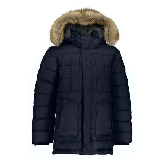 Campagnolo Zip Long Hood Jacket Boy - Black Blue