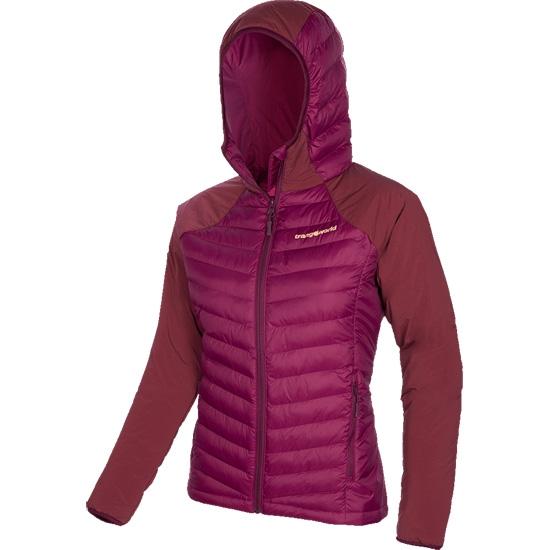 Trangoworld Mussara Jacket W - Amaranto/Vino