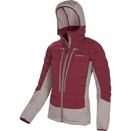 Trangoworld Abeille Jacket W - Vino/Gris Claro