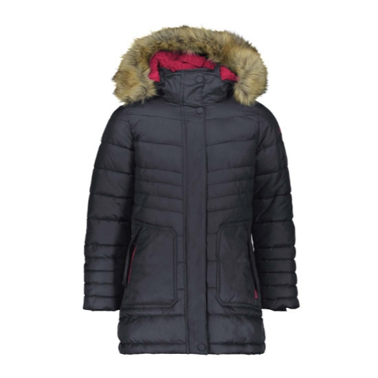 Campagnolo Snaps Hood Parka Girl - Antracite