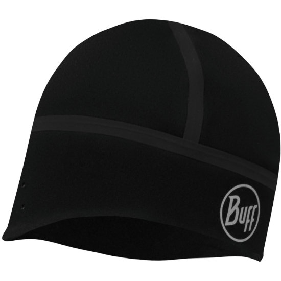 Buff Windproof Hat - Solid Black