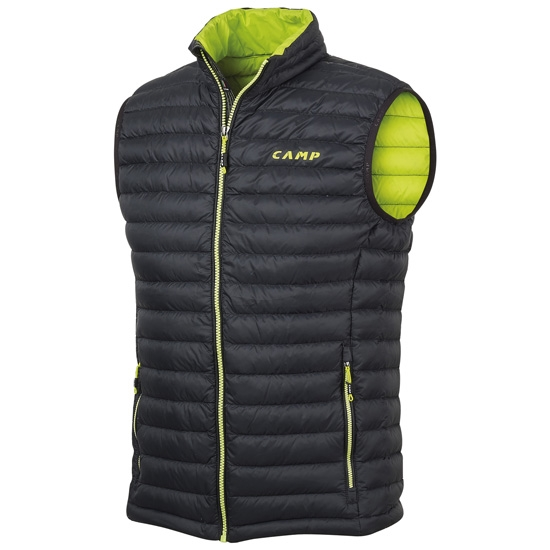 Camp Ed Motion Vest - Black/Lime Punch