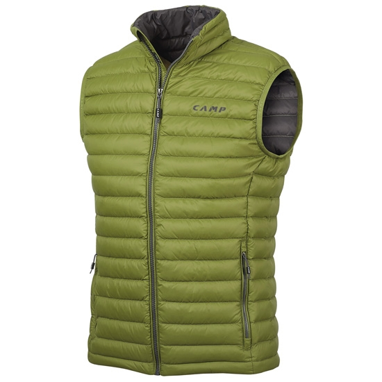 Camp Ed Motion Vest - Emerald Green/Anthracite