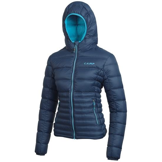 Camp Cloud Jacket W - Cobalt Blue/Turquoise