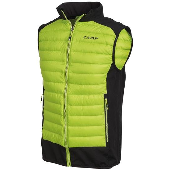 Camp Hybrid Vest - Lime Punch/Black