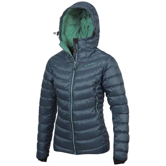 Camp Ed Hyper Jacket Lady - Pastel Blue/Opal Green