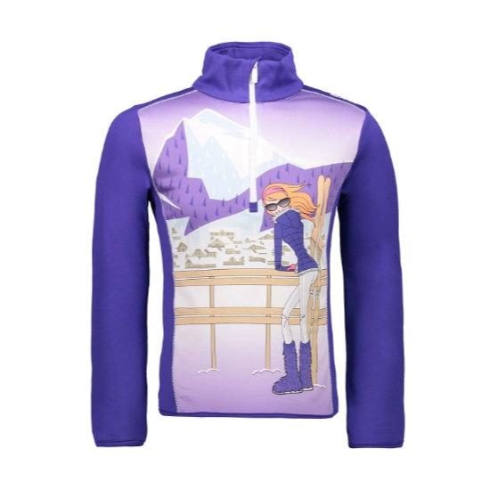 Campagnolo Sweat Shirt Girl - Lapis Blue