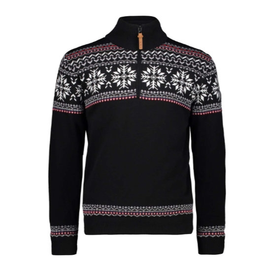 Campagnolo Knitted Pullover - Nero