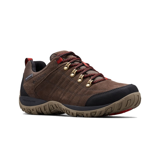 Columbia Peakfreak Venture S II Waterproof - Cord/Fire Red