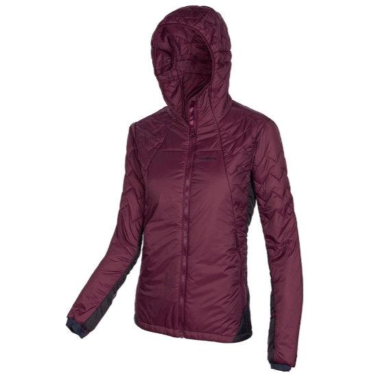 Trangoworld Solden Jacket W - Vino/Negro Azulado