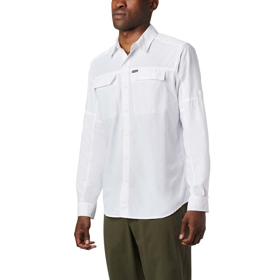 Columbia Silver Ridge 2.0 Ls Shirt - White