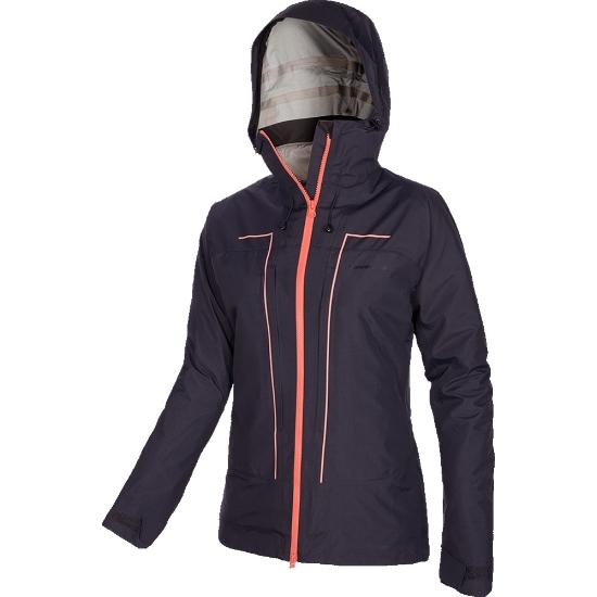 Trangoworld Wanaka Complet Jacket W - Negro Azulado