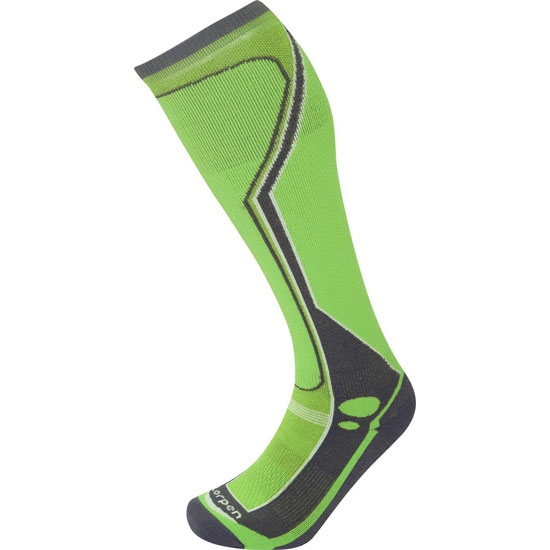Lorpen T3 Ski Midweight - Green Lime
