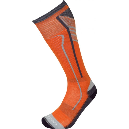Lorpen T2 Ski Light - Orange Red