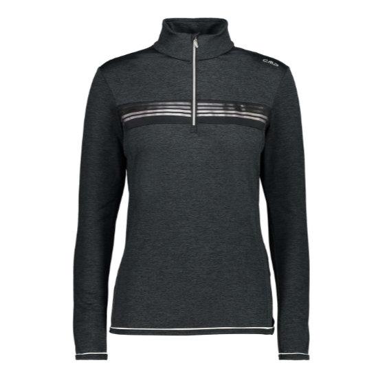Campagnolo Sweat Shirt W - Nero Melange