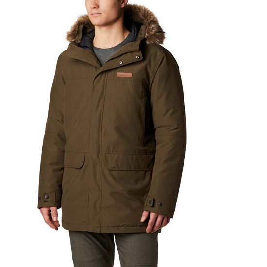 Columbia Marquam Peak Parka - Olive Green