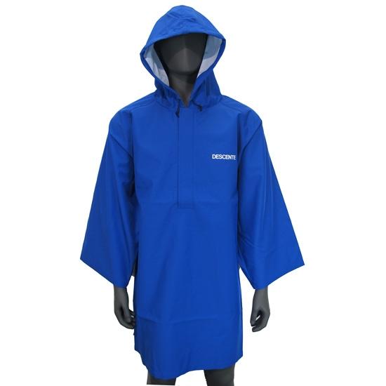 Descente Ski Poncho - Blue