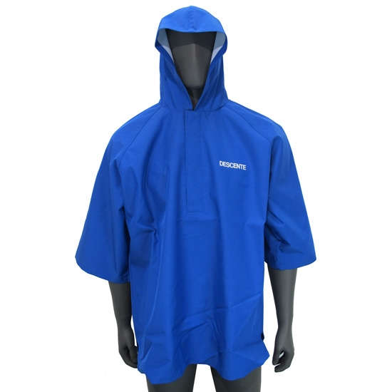 Descente Ski Poncho Jr - Blue