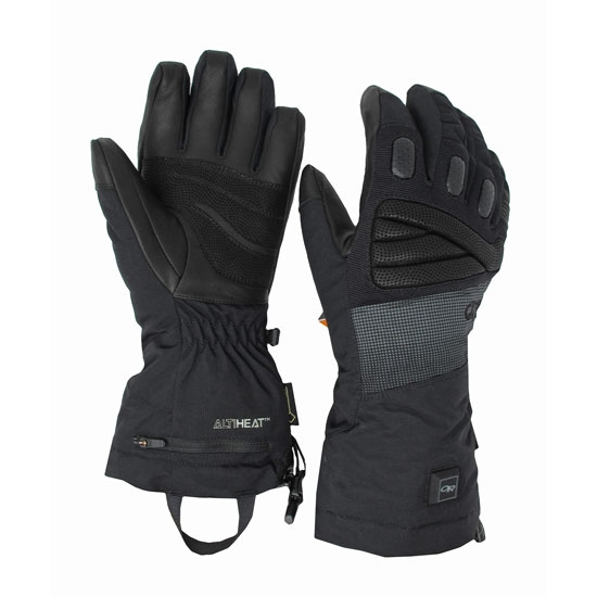 Outdoor Research Lucent Heated Gloves - Black