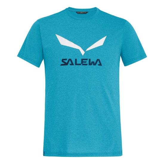 Salewa Solidlogo Dri-Rel S/S Tee - Blue Danube