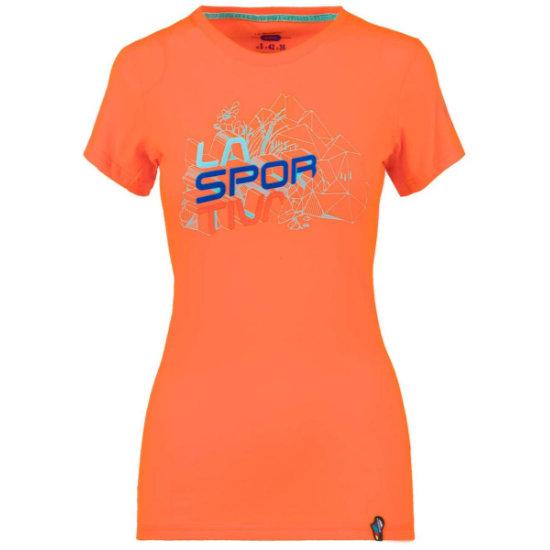 La Sportiva Cubic T-Shirt - Lily Orange