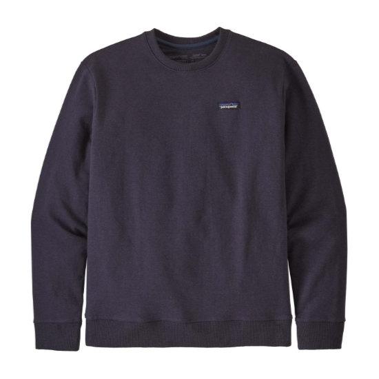 Patagonia P-6 Label Uprisal Crew Sweater - Pit Purple
