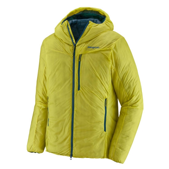 Patagonia Das Light Hoody - Chartreuse