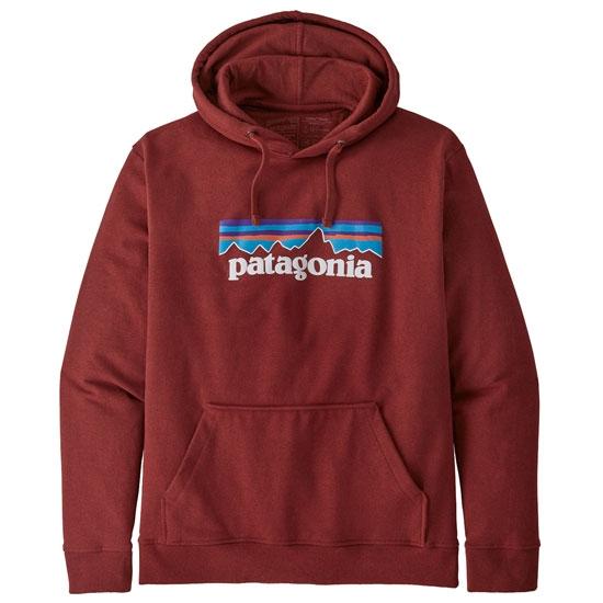 Patagonia P-6 Logo Uprisal Hoody M - Barn Red