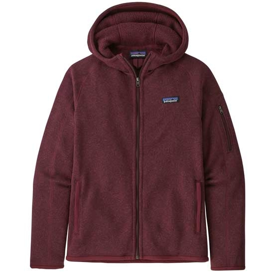 Patagonia Better Sweater Hoody W - Chicory Red