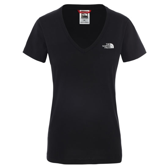 The North Face S/S Simple Dome Tee W - TNF Black/White