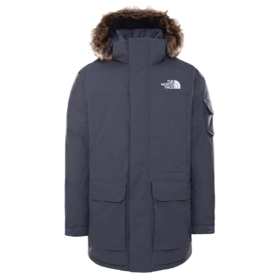 The North Face Recycled McMurdo Jacket - Vanadis Grey