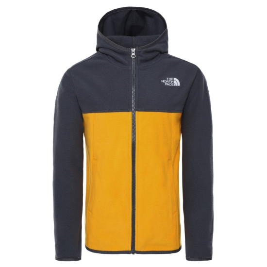The North Face Glacier Full Zip Hoodie Jr - Summit Gold
